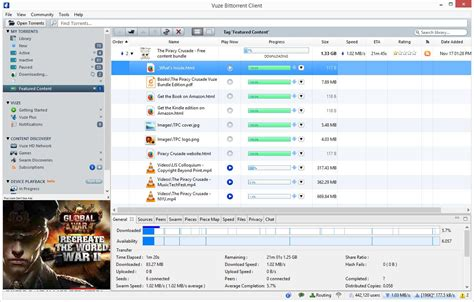 best torrent software vuze the most powerful bittorrent app on earth