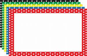 Black And White Polka Dot Page Border Clip Art - ClipArt Best