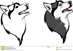 Watch more like Siberian Husky Head Clip Art