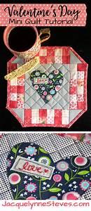 Valentine39s Day Mini Quilt Pattern Tutorial