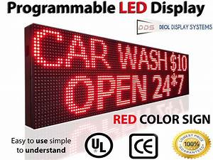 633ftx1ft outdoor led signs 10mm programmable scrolling With led letter signs outdoor