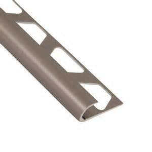 floor and decor outlets of america inc schluter rondec satin nickel anodized aluminum bullnose