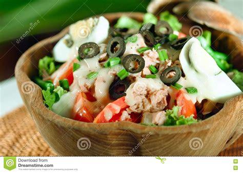 Moroccan Mediterranean Salad Style Stock Photography