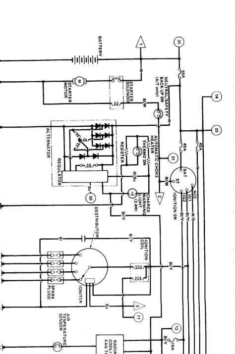 1986 Honda Civic Wiring Diagram | Auto Wiring Diagrams