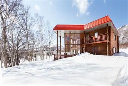 Matsu Japan Outside Rusutsu Hokkaido Winter Village