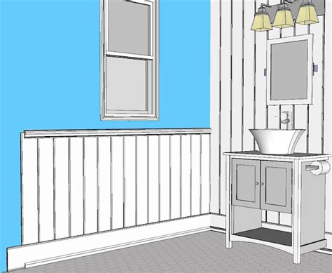 Shiplap Wainscoting  Elite Trimworks