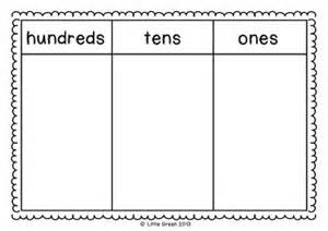 free place value mats teaching ideas math lessons places and place values
