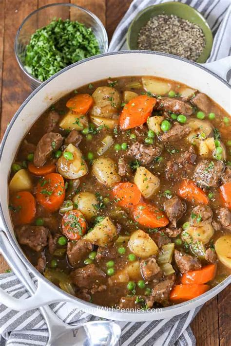 beef stew recipe flavorful spend with pennies