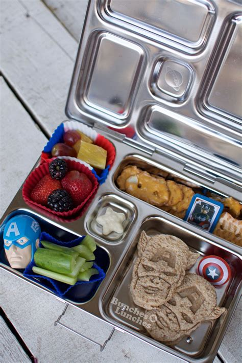captain america civil war lunch bunches  lunches