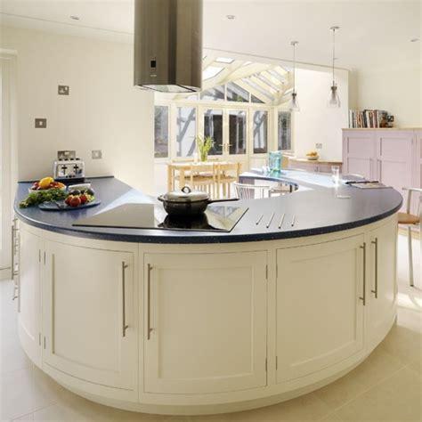 kitchen island uk statement peninsula be inspired by a spacious kitchen