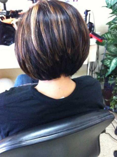 stacked layered bob bob hairstyles  short