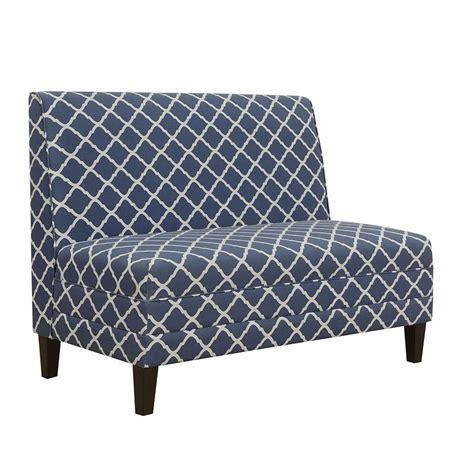 High Back Settee Sale by High Back Settee Blue Pulaski Furniture Furniture Cart