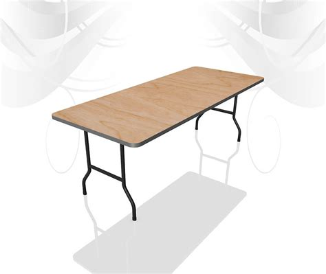 6 Foot Dining Table by 6ft X 2ft 6in Trestle Table Furniture4events