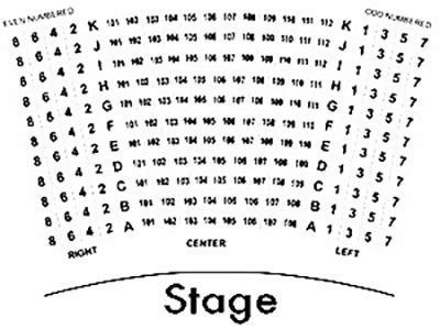 seating charts college   arts csuf