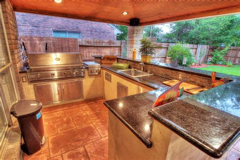 outdoor kitchens hhi patio covers houston