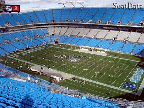 upper level corner bank  america stadium football