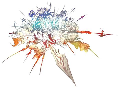 image ffxiv logo png the final fantasy wiki 10 years of having more final fantasy