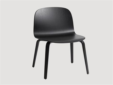 buy the muuto visu wide chair wooden base at nest co uk