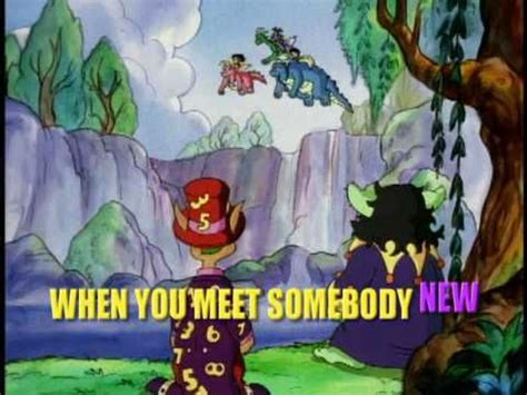 Dragon Tales Hello Song