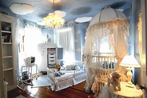 Luxury Baby Boy Nurseries Ideas With Large Crib And