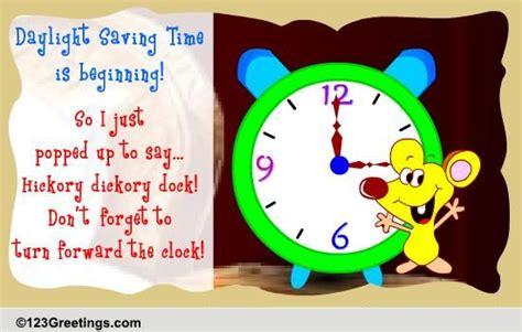 daylight saving time begins cards daylight saving time begins