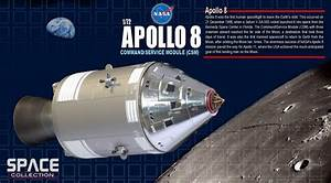 Apollo 8 Command/Service Module (CSM) - Die-cast model ...