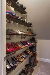 Idee Rangement Chaussure : id es pour ranger ses chaussures ~ Teatrodelosmanantiales.com Idées de Décoration