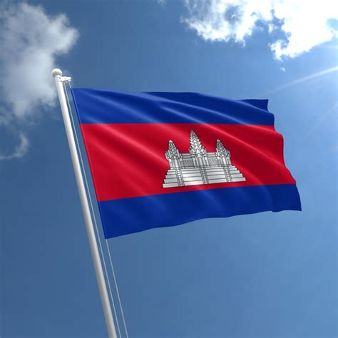 wall mounted cambodia flag buy flag of cambodia the flag shop