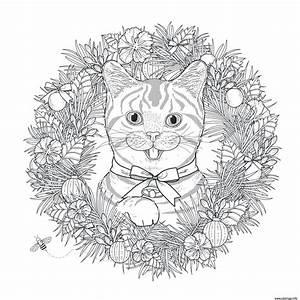 Puzzle Gratuit En Ligne Pour Adulte : coloriage mandala noel chat adulte dessin ~ Dailycaller-alerts.com Idées de Décoration