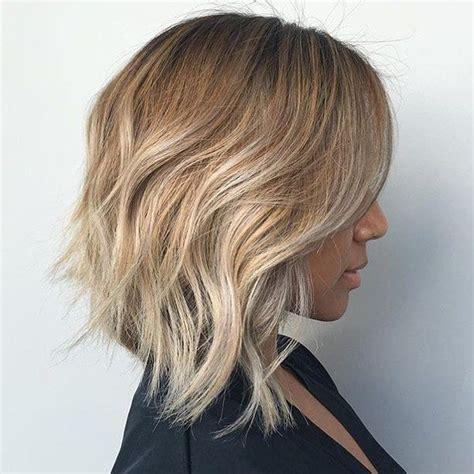 angled lob hair hair styles hair