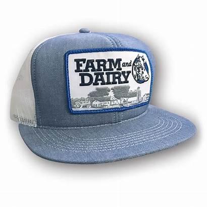 Hat Summer Mesh Trucker Farmanddairy Dairy