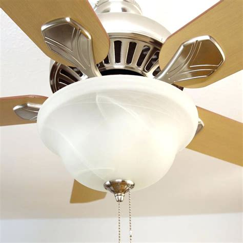 hton bay fan globe ceiling fan parts globe to brighter led light in ceiling