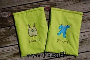 Sac à Linge Sale : sac linge sale b b pochon doubl avec un joli tissus ~ Dailycaller-alerts.com Idées de Décoration