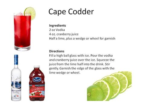 cape cod cocktail luau drink recipes midnight mixologist