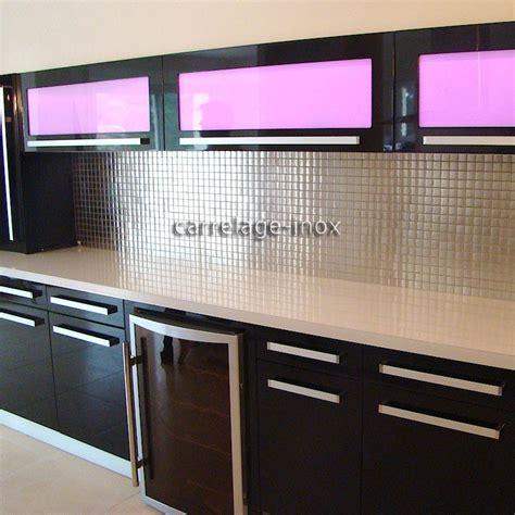 mosaique cuisine mosaïque inox 1m2 crédence cuisine carrelage regular 30