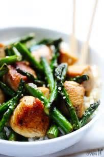 Chicken and Asparagus Stir Fry Recipe