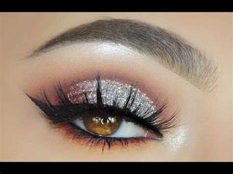 elegant silver glitter eye  sofie bella youtube