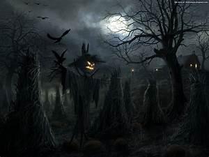Halloween Graveyard - Dark Gothic Wallpapers - FREE Gothic ...