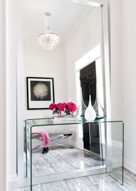 floor mirror entryway 15 chic ways to rock a floor mirror in your home shelterness