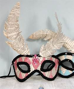 You Can Make Your Own DIY Masquerade Mask From Home