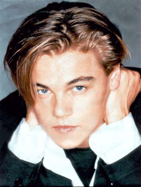 Leonardo Dicaprio Hairstyle 90s Side Part Youtube
