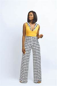 1000 ideas about african jumpsuit on pinterest ankara With robe salopette femme