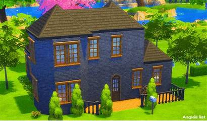 Sims Homes Sim Lane Houses Special Iconic