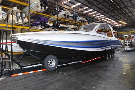 Miami Dry Boat Storage by Marine Center At Tnt Custom Marine