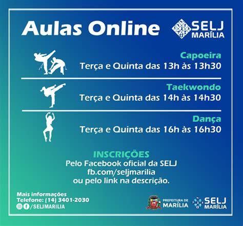 Secretaria de Esportes abre turmas online para três novas ...