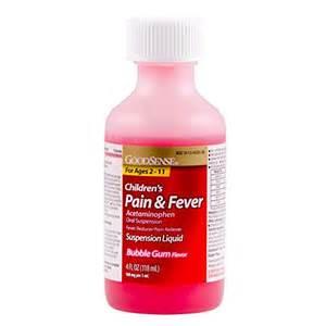 ... Pain Reliever Oral Suspension Liquid, Bubble Gum Flavor, 160 mg, 4  Aspirin Gum Headache