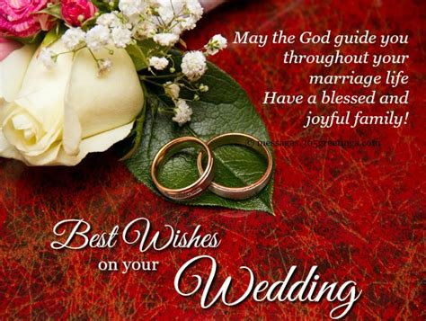 Best Wedding Wishes Messages Wedding Messages For Card Image 365greetings