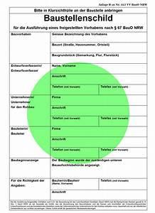 Bauantrag Sachsen Anhalt : datei baustellenschild nrw gr wikipedia ~ Whattoseeinmadrid.com Haus und Dekorationen