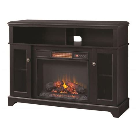 home depot electric fireplace home decorators collection ravensdale 48 in media console