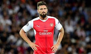 Olivier Giroud is struggling at Arsenal this because ...